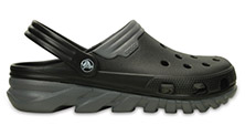 Crocs Duet Max Clog Black/Charcoal