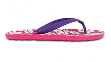 Crocs Chawaii Tropical Print Flip GS