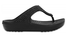 Crocs Sloane Diamante Flip Black