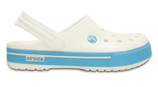 Crocs Crocband II.5 White/Electric Blue