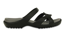 Crocs Meleen Twist Sandal Black/Smoke